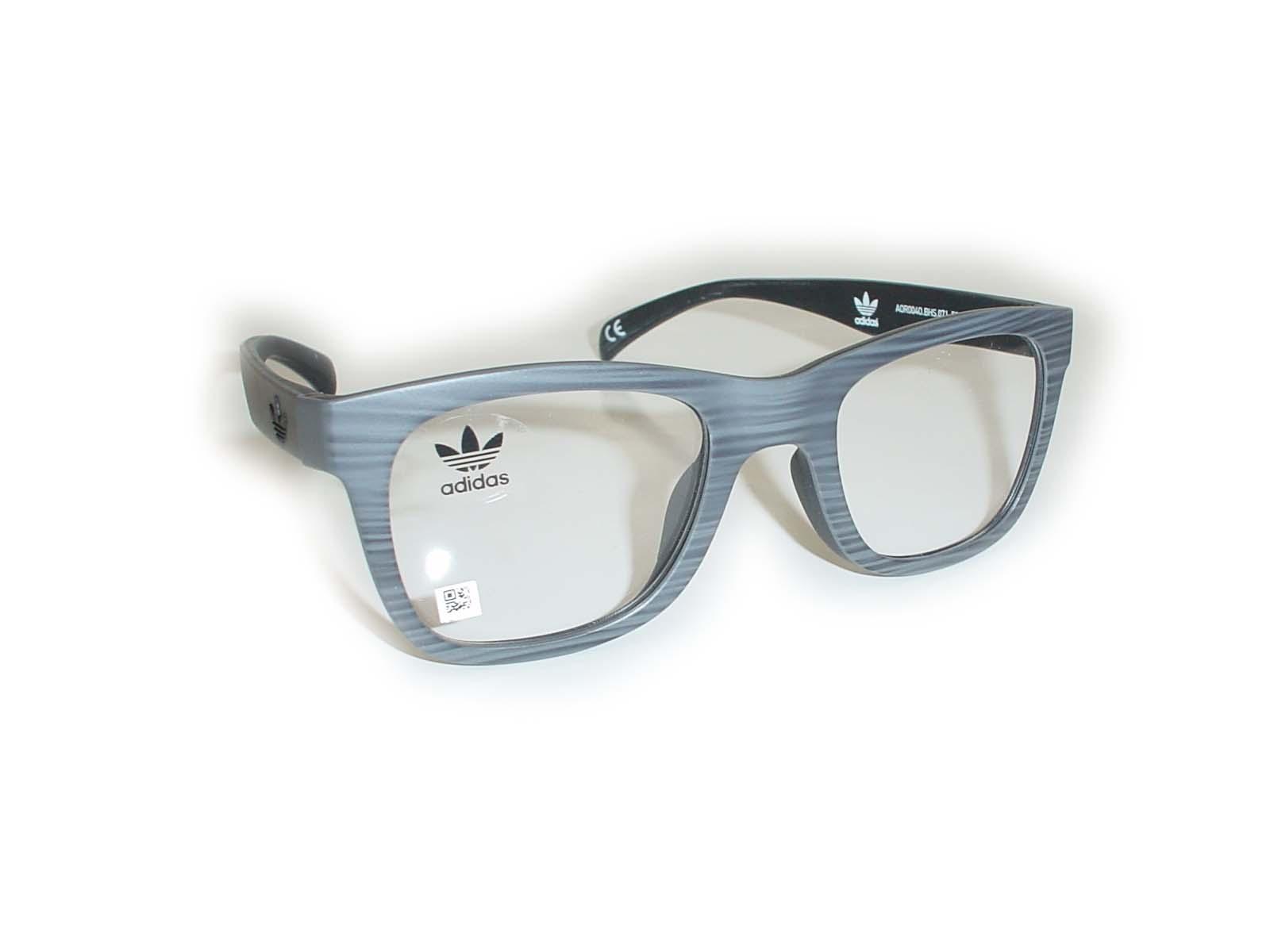 ★adidas(アディダス)★AOR004050□22-140COL.BHS.071グレー超薄型非球面レンズ付
