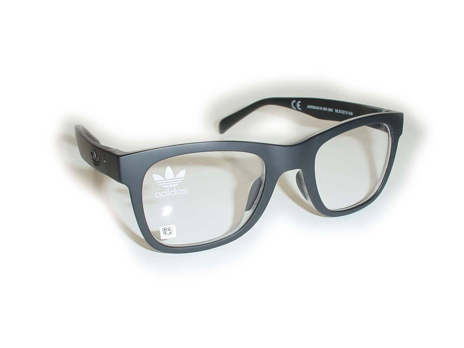 ★adidas(アディス)★AOR0040/N50.5□21.5-140COL.009.000ブラック超薄型非球面レンズ付