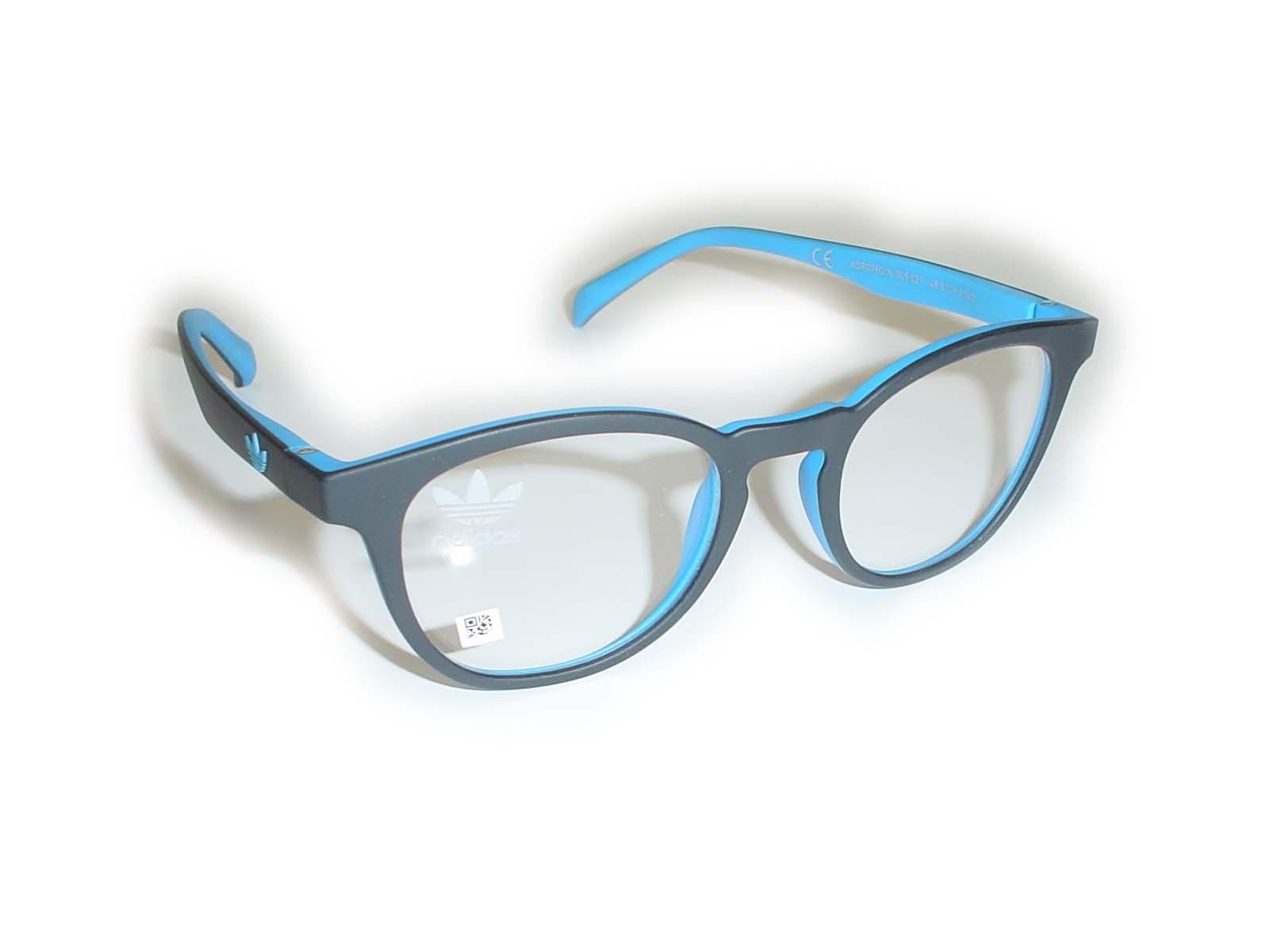 ★adidas(アディス)★AOR0090/N48.5□19.5-140COL.009.027ブラック ブルー超薄型非球面レンズ付