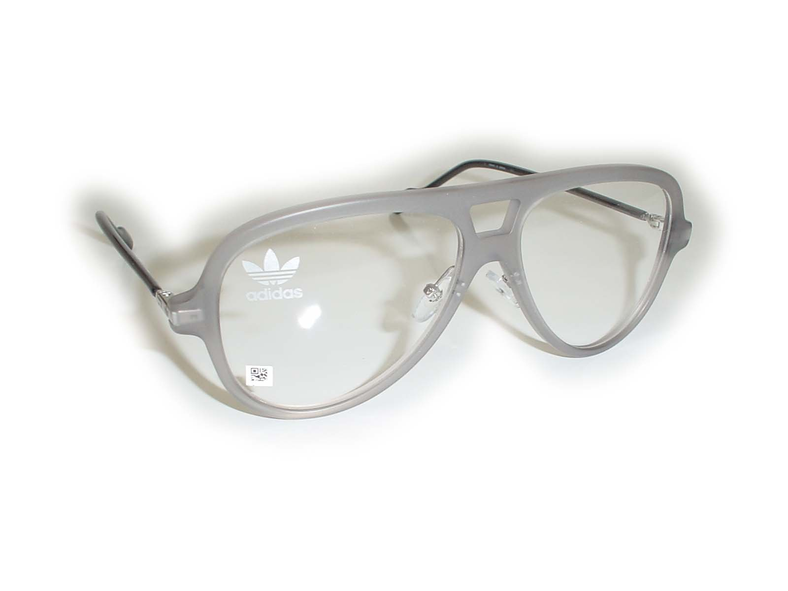 ★adidas(アディス)★AOK001057□14-145COL.070.000グレー超薄型非球面レンズ付