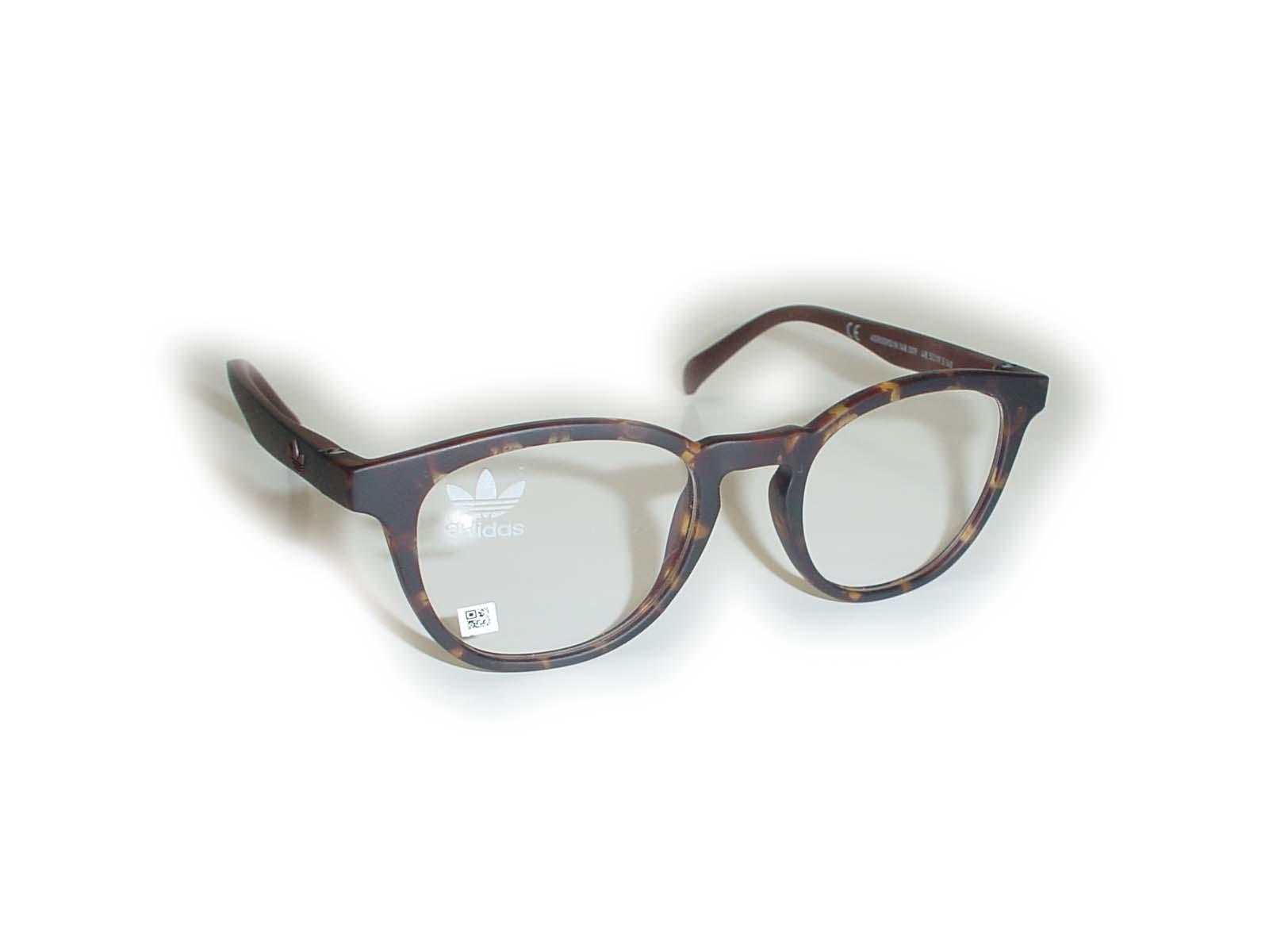 ★adidas(アディス)★AOR0090/N48.5□19.5-140COL.148.009デミブラウン超薄型非球面レンズ付