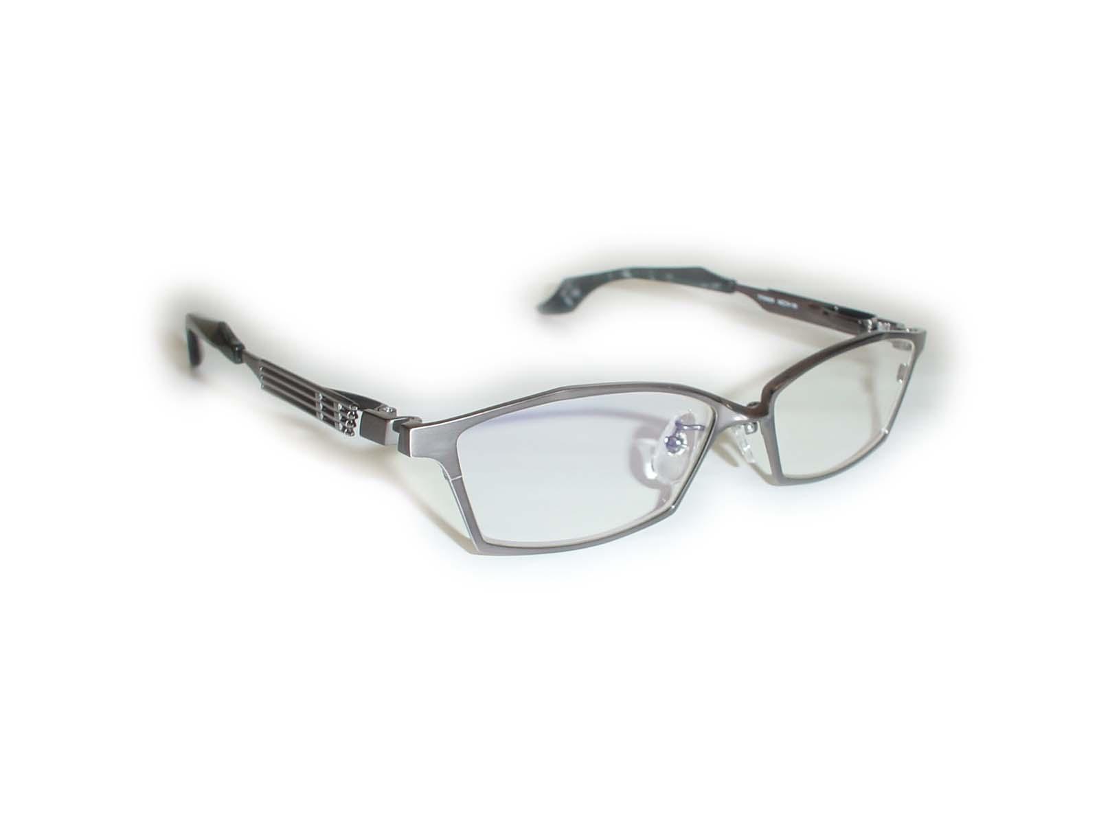 ★★進撃の巨人★★Eren&Mikasa54□15-138超薄型非球面レンズ付コラボ眼鏡