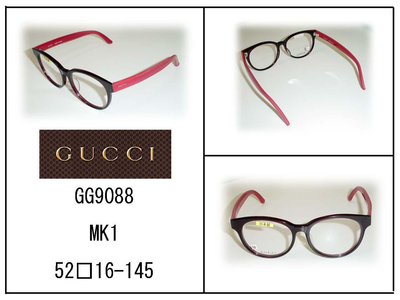 超薄型非球面レンズ付  ★★GUCCI★★   GG9088/MK1