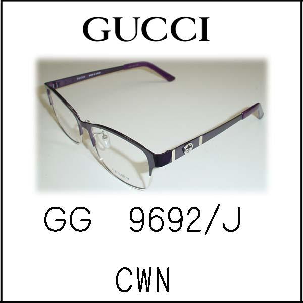 超薄型非球面レンズ付★★GUCCI★★   GG9692/J CWNパープル54□15-140