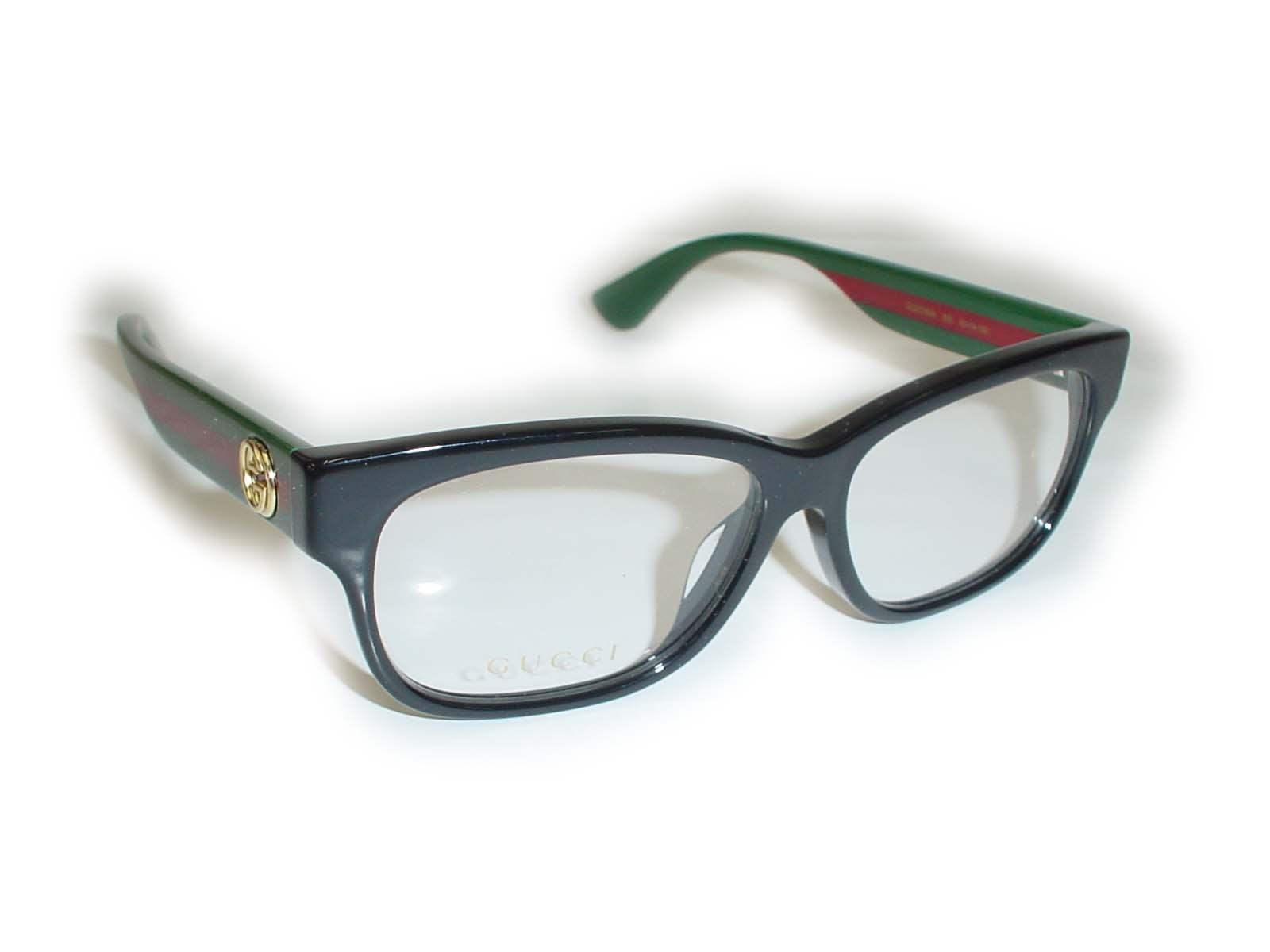 ★★GUCCI★★ GG0278OA 55□14-150 005 ブラック超薄型非球面レンズ付グッチ メガネ アジアンフィット