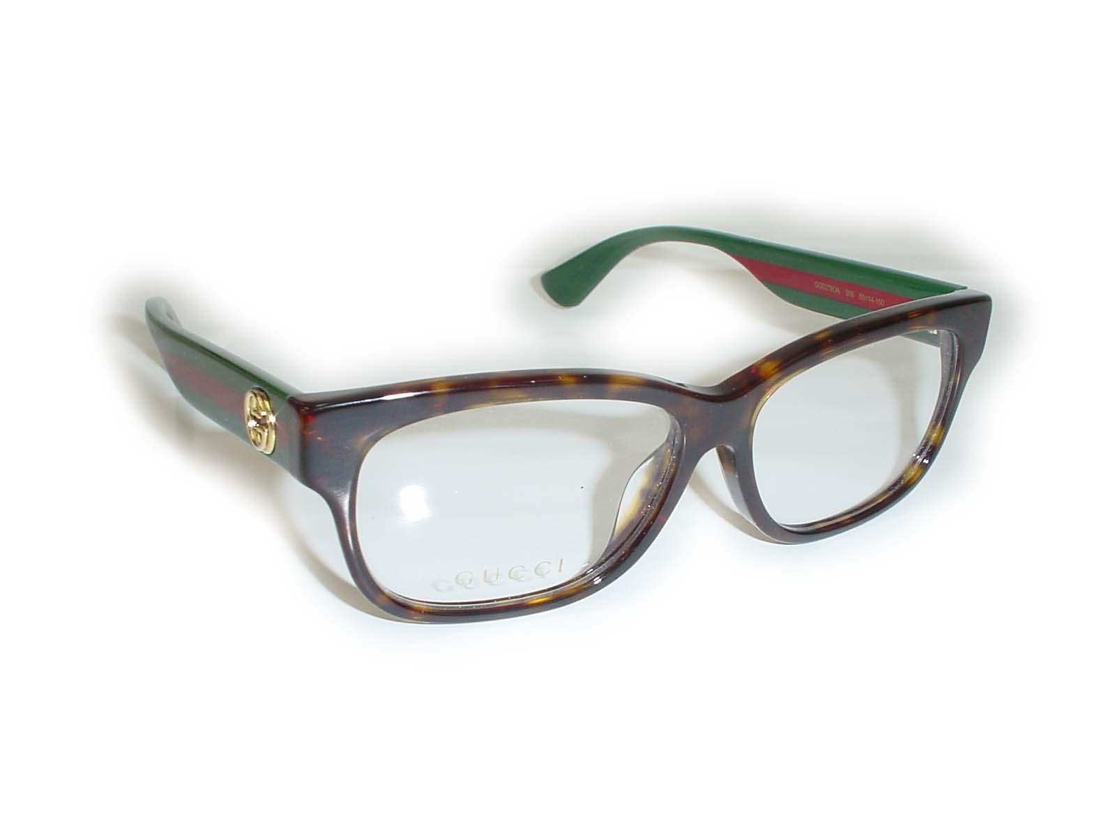 ★★GUCCI★★ GG0278OA 55□14-150 006 ブラウン超薄型非球面レンズ付グッチ メガネ アジアンフィット