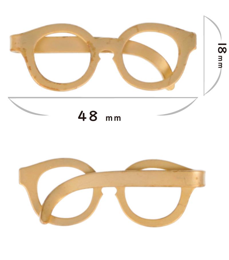 メガネ型タイピン/TP101-01/ゴールドタイピン/眼鏡のネクタイピン/タイピンメガネ/タイピンネクタイピンユニーク面白,[スーツ結婚式入学式プレゼント]/めがねのタイピン,派手すぎずビジネスシーンでも大活躍!