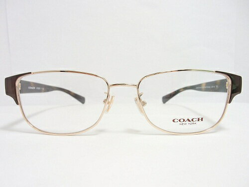 COACH(コーチ)  メガネ  HC5079 col.9258(BrownLtGold/DarkTortoise) 53mm COACH コーチ レディース 女性 プレゼント 記念日 贈り物に。