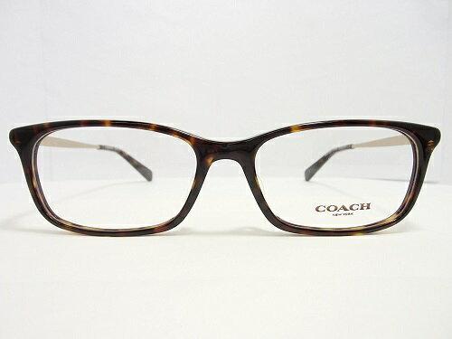 COACH(コーチ) メガネ HC 6110F col.5485(DarkTortoise) 54mm COACH コーチ レディース 女性 プレゼント 記念日 贈り物に。
