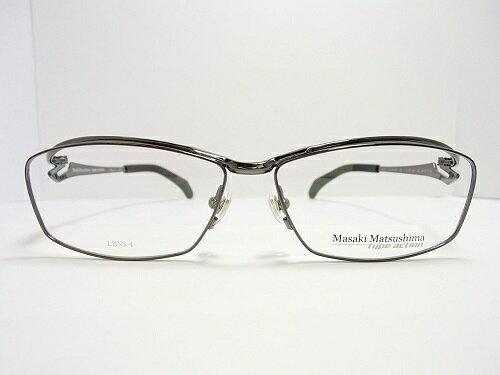 Masaki Matsushima(マサキマツシマ) メガネ MFS-118 col.2 57mm 日本製 【TypeAction】 メンズ ビジネス プレゼント 記念日 贈り物に。