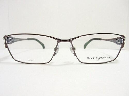 Masaki Matsushima(マサキマツシマ) メガネ MF-1208 col.3 58mm MADE IN JAPAN 日本製 メンズ ビジネス プレゼント 記念日 贈り物に。