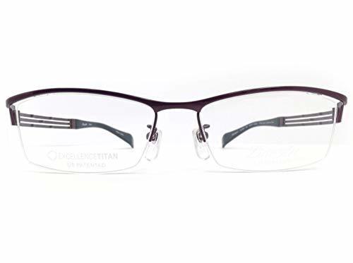 LineArt CHARMANT (ラインアート シャルマン)  フレーム XL1028  col.BU  54mm  【料金そのままで伊達メガネ・度付きメガネも対応可】 紳士 アイウェア メガネフレーム