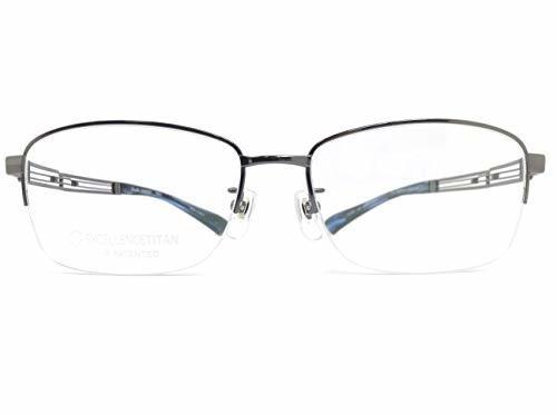 LineArtCHARMANT(ラインアートシャルマン) メガネ XL1801 col.GR 54mm 【料金そのままで伊達メガネ・度付きメガネも対応可】 紳士 アイウェア メガネフレーム