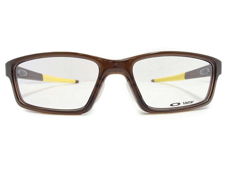 OAKLEY(オークリー) メガネ CROSSLINK PITCH FR(クロスリンクピッチ) OX8041-0356 56mm 【交換用テンプル付き】