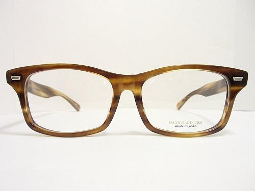 NOVA(ノバ) メガネ HAND MADE ITEM H-4014 col.3 58mm 日本製  丸メガネ トレンド プレゼントに。