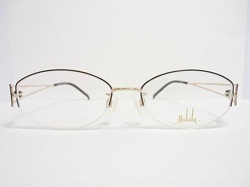 Habibi(ハビビ)  メガネ H167/2 col.8063 52mm 日本製 日本製 レディース 女性 プレゼント 記念日 贈り物に。