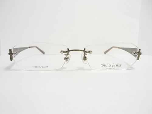 COMME CA DU MODE(コムサデモード) メガネ CM28868 col.GN 53mm  アイウェア メガネフレーム