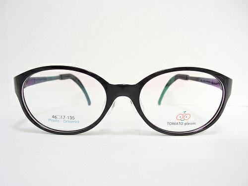 TOMATO GLASSES トマトグラッシーズ 子供用メガネ TJBC5(JuniorB) 46mm 【ズレ落ちない】【鼻パット調整】【テンプル調整】