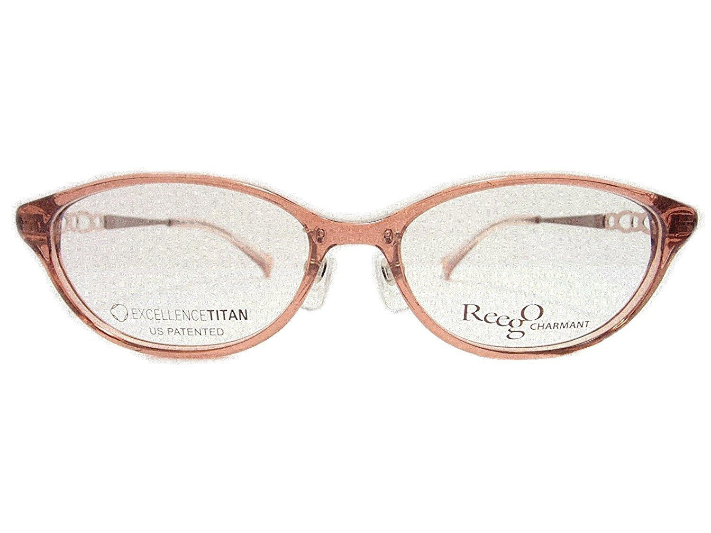 ReegoCHARMANT(リーゴシャルマン) メガネ XW4024 col.PK 52mm 【料金そのままで伊達メガネ・度付きメガネも対応可】  婦人 アイウェア メガネフレーム