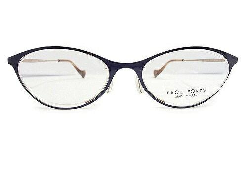 FACE FONTS(フェイスフォント) メガネ FF-351 col.04 50mm 国内正規品