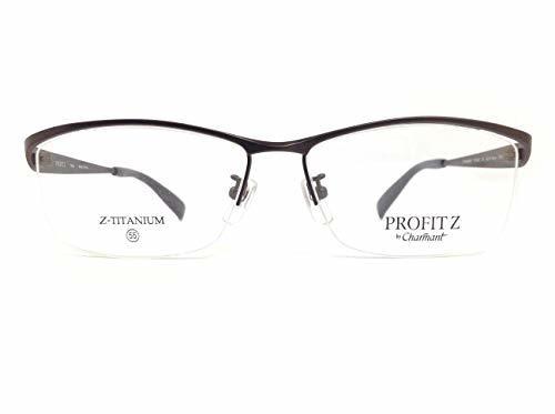 CHARMANT PROFIT Z(シャルマン プロフィット) メガネ PF23869 col.BR 55mm 紳士 アイウェア メガネフレーム
