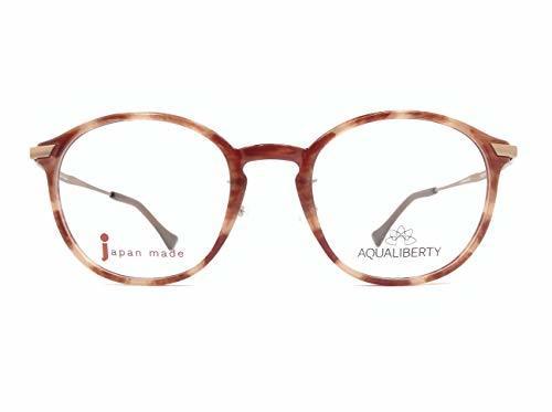 AQUALIBERTY(アクアリバティ) メガネ AQ22504 col.WI 48mm 日本製 【料金そのままで伊達メガネ・度付きメガネも対応可】