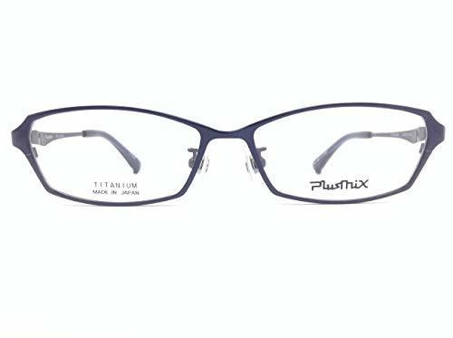 PlusMix(プラスミックス) メガネ PX-13573 col.450 54mm 日本製