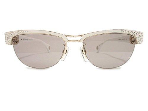 A'rossvy(ロズヴィー)  サングラス 209251607 ホワイトゴールド・ホワイト/ホワイト/ヘマタイト 56mm No.013/100 【限定生産100本】