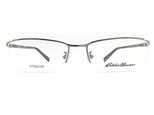 EddieBauer(エディーバウアー) メガネ EB27303E col.GR 55mm 【料金そのままで伊達メガネ・度付きメガネも対応可】 紳士 アイウェア メガネフレーム
