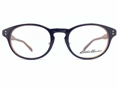 EddieBauer(エディーバウアー) メガネ EB27311E col.NV 50mm 【料金そのままで伊達メガネ・度付きメガネも対応可】 紳士 アイウェア メガネフレーム