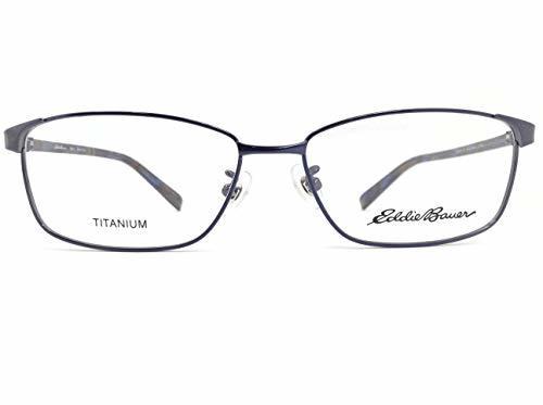 EddieBauer(エディーバウアー) メガネ EB27302E col.BL 54mm 【料金そのままで伊達メガネ・度付きメガネも対応可】 紳士 アイウェア メガネフレーム