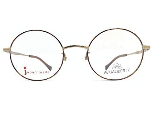 AQUALIBERTY(アクアリバティ) メガネ AQ22507 col.DB 47mm 日本製【料金そのままで伊達メガネ・度付きメガネも対応可】