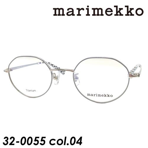 <title>marimekko ついに入荷 マリメッコ メガネ 32-0055 col.4 ブラッシュシルバー ライトグレー 47mm Elna Titanium</title>
