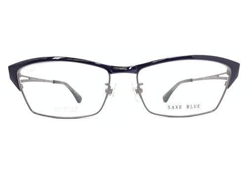 SAXE BLUE(ザックスブルー) メガネ SB-7102 col.3 55mm 日本製