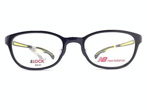 new balance(ニューバランス) メガネ NB09093 col.01 49mm 【ズレ防止用ロック機能付き】【小さいサイズ】