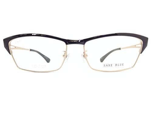 SAXE BLUE(ザックスブルー) メガネ SB-7102 col.1 55mm 日本製
