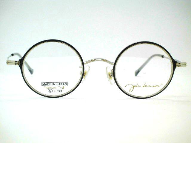 ジョンレノン生誕80年アニバーサリー丸眼鏡 評価 専門店 厚めカットリム丸メガネ 2重構造プレミアム丸めがね ジョンレノン JL-P301