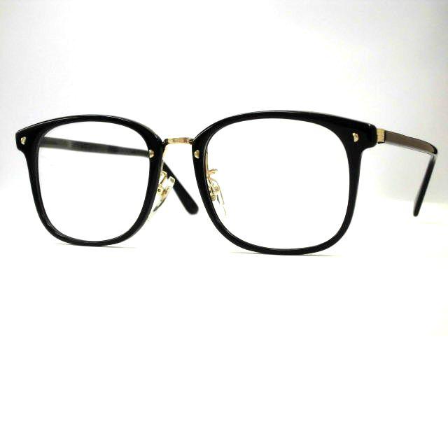 セルメタルコンビウエリントンフレーム[大きめコンビウエリントン眼鏡] utiコンビ・スクエア