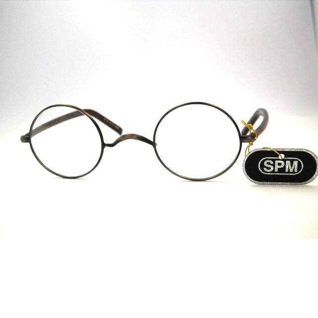 小さな丸メガネ 小さめ丸眼鏡 サンプラチナ小さい丸めがね・冶太夫11