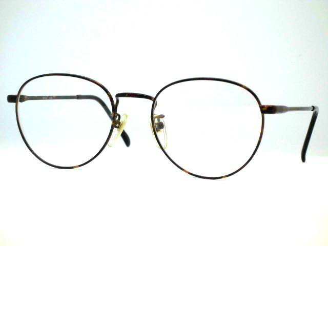 日本製 アイビー大きい丸メガネ 大きめボストンメガネ NOVA・208