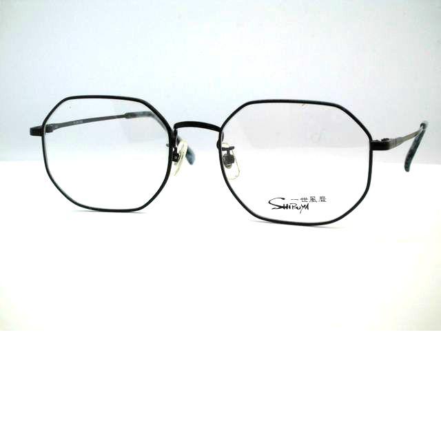 日本製 六角形メガネ KOOKIメタル多角形メガネフレーム 一世風靡SHIBUYA・704