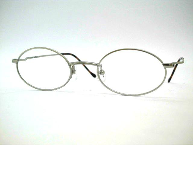 日本製 笑福亭 鶴瓶師匠メガネ オーバル型軽量チタン眼鏡 ユニオン・アトランテック UNION ATLANTIC・UA3600