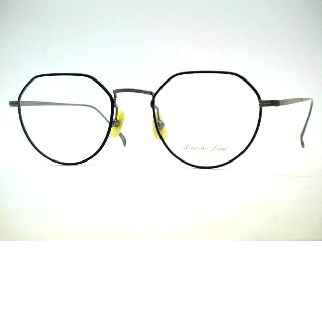 クラウンパント型チタンフレーム モダンにセルを使用しない日本製クラウンパント眼鏡 プレゼント アコースティックライン AL026a 期間限定送料無料