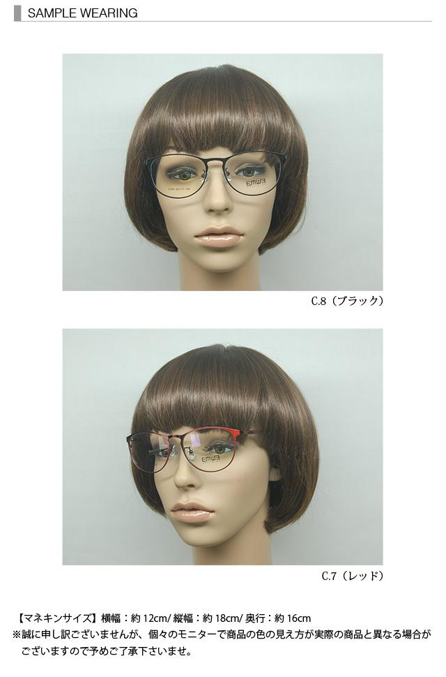 有义气的EXR progressive EXR-1337(50%OFF)眼镜度眼镜眼镜PC眼镜蓝光彩色属于P的眼镜透镜