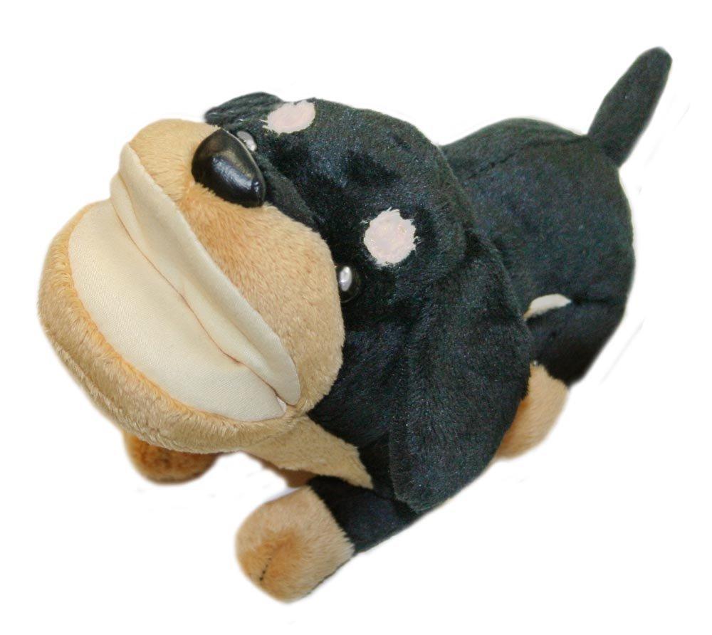 低価格 犬好きに評判のアニマルメガネスタンド 送料無料 アニマルメガネスタンド 現金特価 E-5 ミニチュアダックスクロ かわいいメガネケース