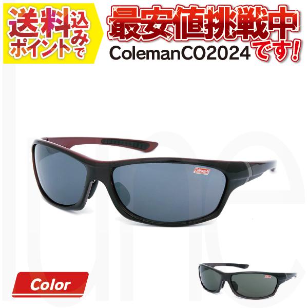 送料無料 世界的アウトドアブランドの意欲作 高品質新品 Coleman コールマン 予約 サングラス CO2024 UVカット 鼻調整可