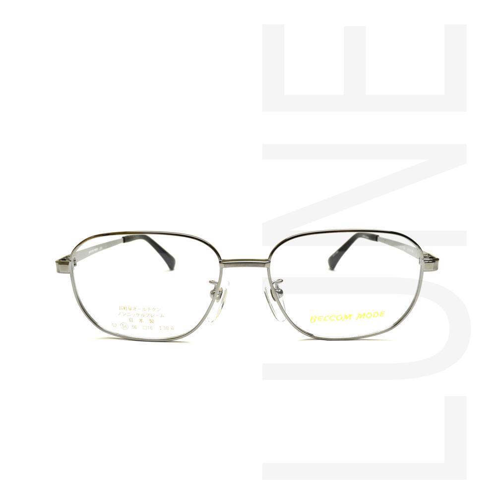 送料無料 メガネ BM003 COL RT 紳士フレーム メガネ度付き 伊達メガネ 度なしめがね 眼鏡 ブルーライトカット 軽い 家用メガネ 布ケース