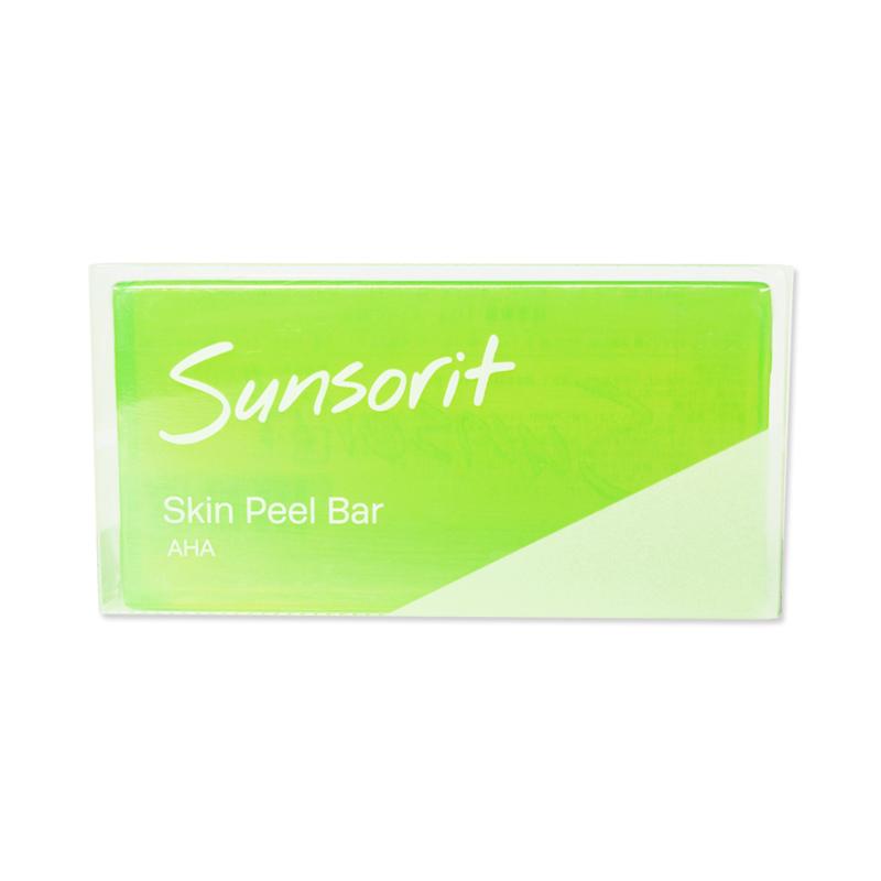 洗顔からはじめる私の新肌 サンソリット スキンピールバー AHA 激安価格と即納で通信販売 期間限定で特別価格 Peel Bar 135g Skin