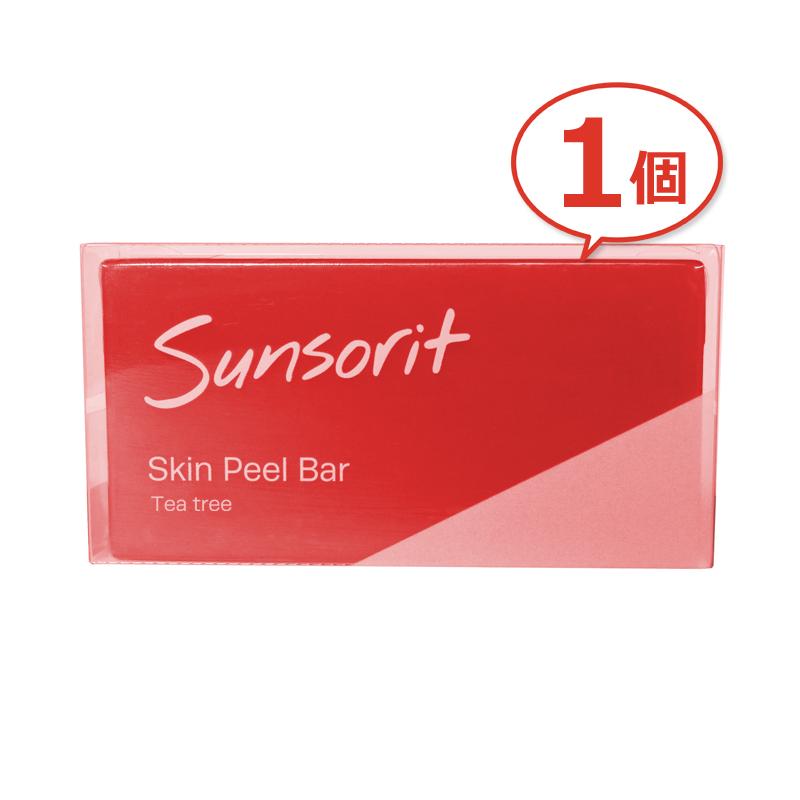好評受付中 洗顔からはじめる私の新肌 サンソリット スキンピールバー ティートゥリー Skin 135g 中古 Bar Peel