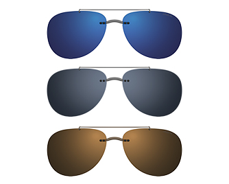 7497a7397d22 Silhouette StyleShade silhouette-style shade pure clip on sunglasses polarization  blue (blue flash mirror